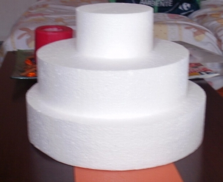 como hacer una tarta de chuches paso a paso