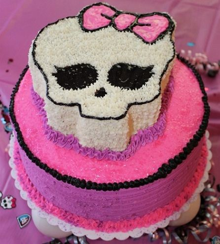 tartas de monster high