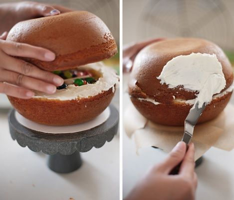 tartas originales para niños, una tarta piñata